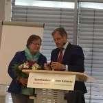 Ulli Reisinger erhält goldene Ehrennadel des IPZV